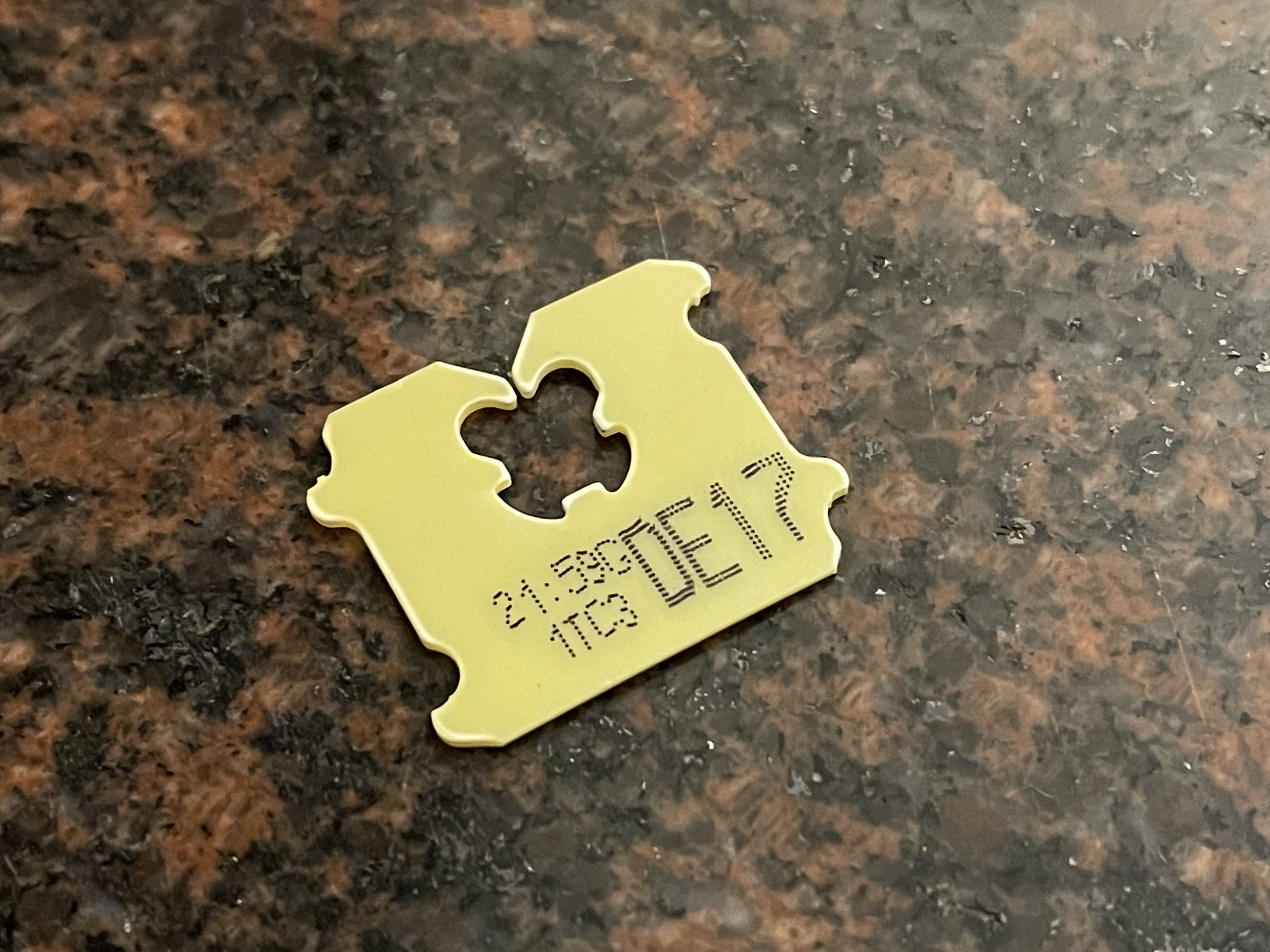 Figure: A Canadian bread tag with date. Photo credit: Shakailah Allison